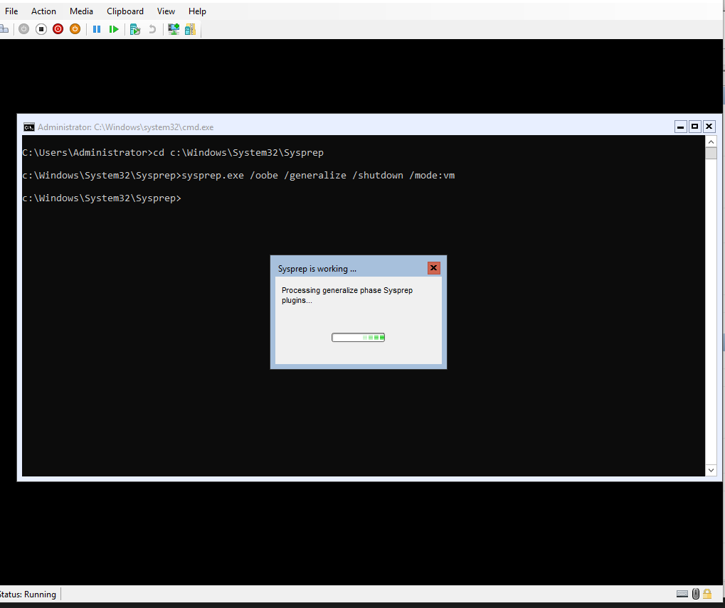 Create Windows General Image for Hyper-V with Sysprep